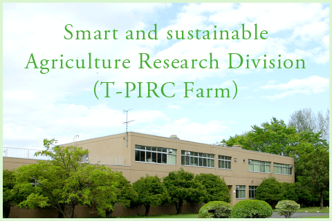 Smart and sustainable Agriculture Research Division(T-PIRC Farm)|T-PIRC